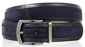 Russell & Bromley Nugget Two-Tone Men's Belt: £175.