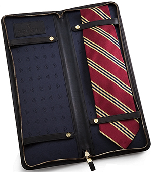 Brooks Brothers leather tie case: US$148.