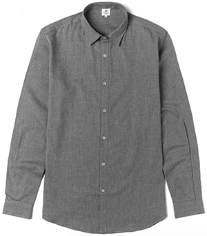 Sunspel Brushed Cotton Men's Shirt: €165.