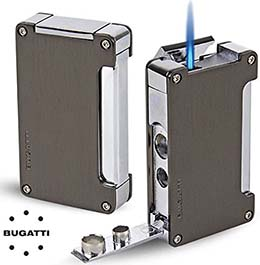 Bugatti B-1 Torch Lighter - Gunmetal.