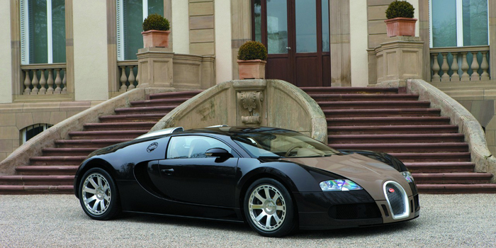 Bugatti Veyron Fbg par Hermès - world's most expensive street car: US$2 million.