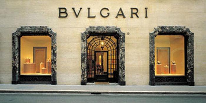 Bvlgari flagship store, Via dei Condotti 10, 00187 Rome, Italy.