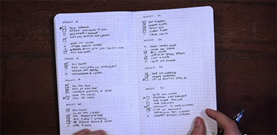 Bullet Journal - 'An analog note-taking system for the digital age'.