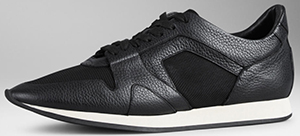 Burberry The Field Men's Sneaker in Leather and Mesh: US$495.