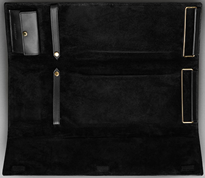 Burberry Sartorial Leather Tie Travel Case: £350.