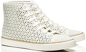 Tory Burch floral Perforated High-Top Women's Sneakers: €205.