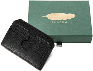 Buscemi Front Pocket Wallet: US$220.