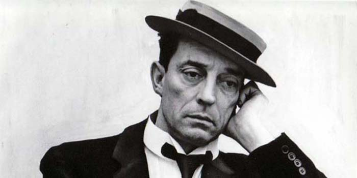Buster Keaton - American comic actor, filmmaker, producer and writer (1895-1966).