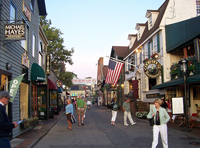 Newport Rhode Island Shopping.