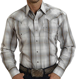 Stetson Hunter's Plaid Weave Button Down Men's Shirt: US$95.
