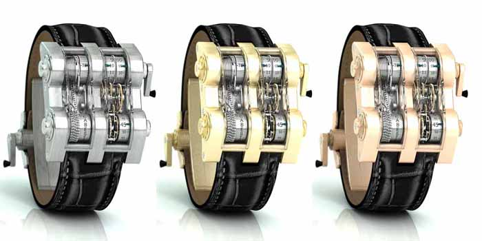 Cabestan Winch Tourbillon Vertical watch. Limited series of 135 pieces. Price: US$400,000.
