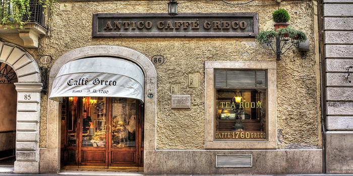 Antico Caffè Greco, Via dei Condotti 86, 00187 Roma, Italy.