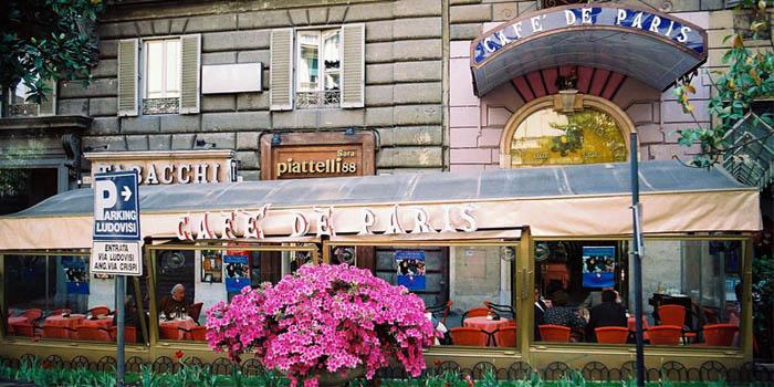 Café de Paris, Via Vittorio Veneto 90, 00187 Roma, Italy.