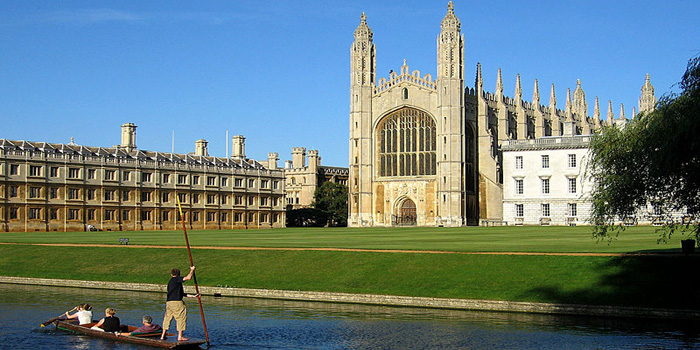 University of Cambridge, Cambridge, England, UK. Ranked No. 7 by the Times Higher Education World University Rankings 2012-2013.