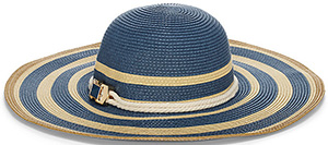 Vince Camuto Striped Floppy hat: US$48.