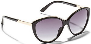 Vince Camuto Cat-Eye sunglasses: US$75.
