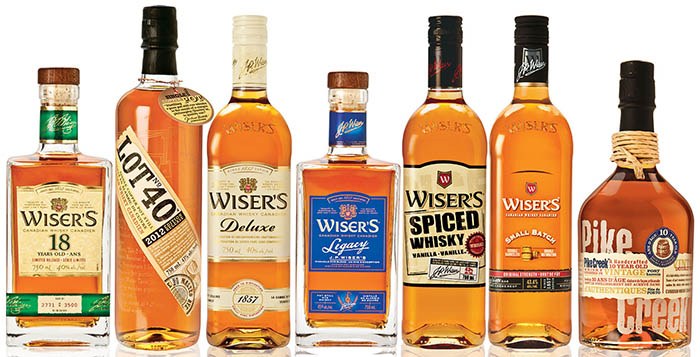 Corby's Canadian Whiskies Receive Worldwide Honours.