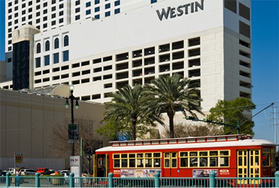 The Westin New Orleans Canal Place, 100 Rue Iberville, New Orleans, Louisiana, 70130.