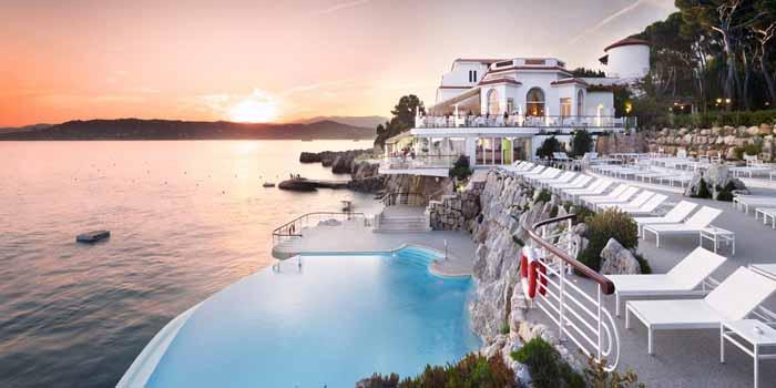 Hôtel du Cap-Eden-Roc, 640 Boulevard John F Kennedy, 06160 Antibes, France.