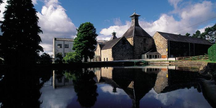Cardhu Distillery.