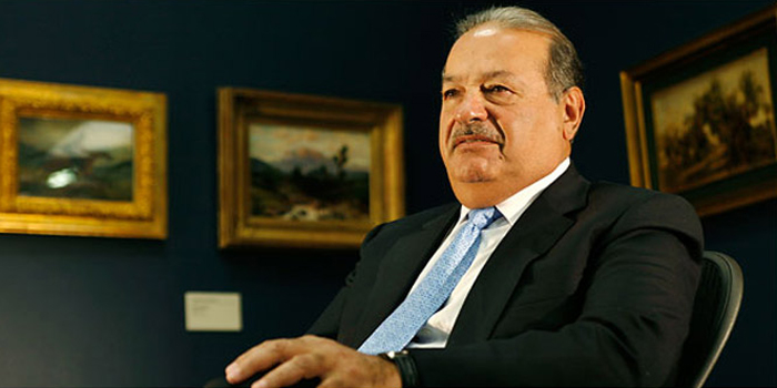 Carlos Slim Helu - world's second man: US$80 billion (as of December 31, 2013. Bloomberg Billionaires).