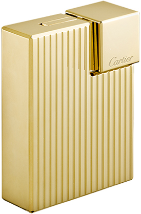 Cartier Godrons' decor square lighter: US$1,150.