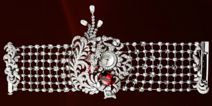 World's Most Expensive Watch #11: Cartier Secret Watch with Phoenix Decor. Price: US$2,755,000.
