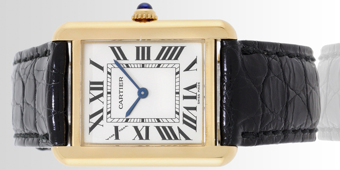 Tank Louis Cartier Watch.