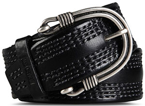 Just Cavalli Solid color, Metallic buckle closure, Logo detail Men's Belt: US$365.