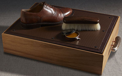 Cedes Milano Shoe shine kit.