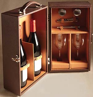 Cedes Milano Wine travelling box.