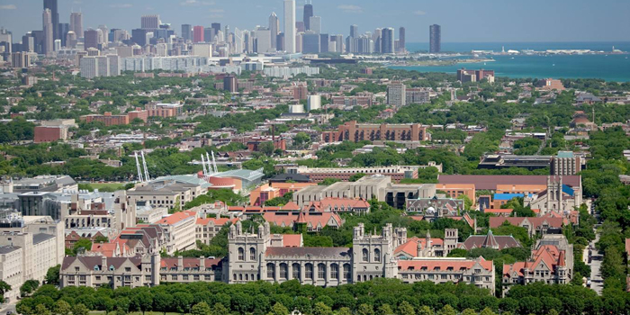 University of Chicago, Chicago, Illinois, U.S.A. Ranked No. 10 by the Times Higher Education World University Rankings 2012-2013.