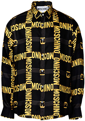 Moschino long sleeve men's shirt: US$745.