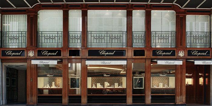 Chopard flagship store, 27 Rue du Rhône, 1204 Geneva, Switzerland.