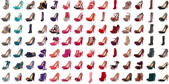 Christian Louboutin Women Shoes.