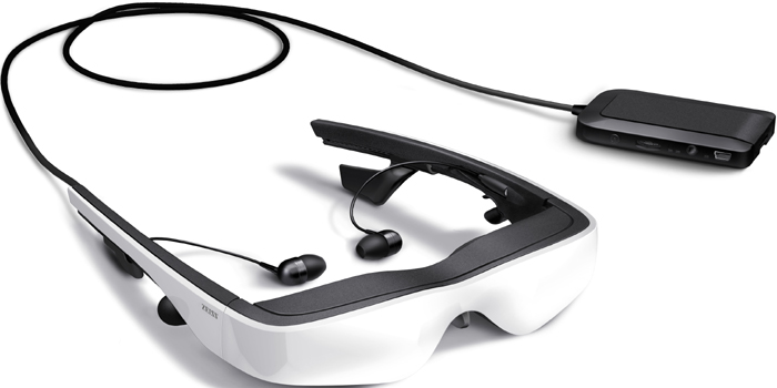 Cinemizer OLED by Carl Zeiss - 3D multimedia Virtual Reality video glasses.