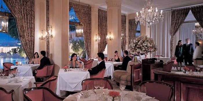 Hotel Cipriani Restaurant at Copacabana Palace hotel, Avenida Atlântica 1702, Río de Janeiro, Brazil.