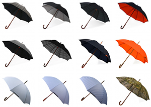 London Undercover umbrellas.