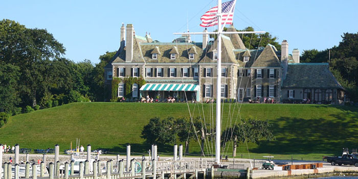 New York Yacht Club-Harbour Court. Founded in 1844. Private social club and yacht club based in 44th Street, New York City & Harbour Court, 5 Halidon Avenue, Newport, RI 02840, U.S.A.