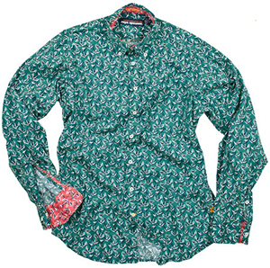 Reyn Spooner Co-Anchors LS men's shirt: US$105.
