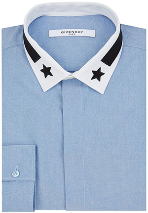 Givenchy Star Collar Men's Shirt: £260.