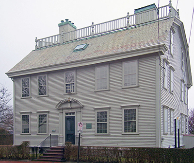 Hunter House, 54 Washington Street, RI 02840.