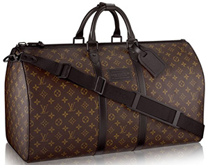 Louis Vuitton Men's Waterproof Keepall 55: US$2,850.