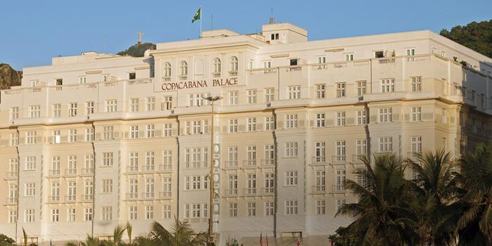 Copacabana Palace, Avenida Atlantica 1702, Rio de Janeiro, Brazil.