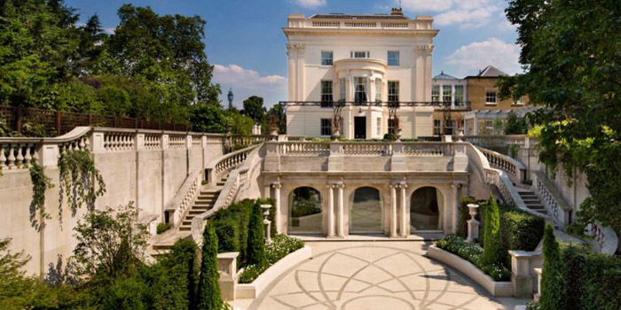 1 Cornwall Terrace, London, NW1 4QP, England, U.K. The world's most expensive terraced house: £100 million.