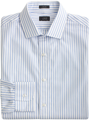 J.Crew Ludlow Spread-Collar Men's Shirt: US$88.