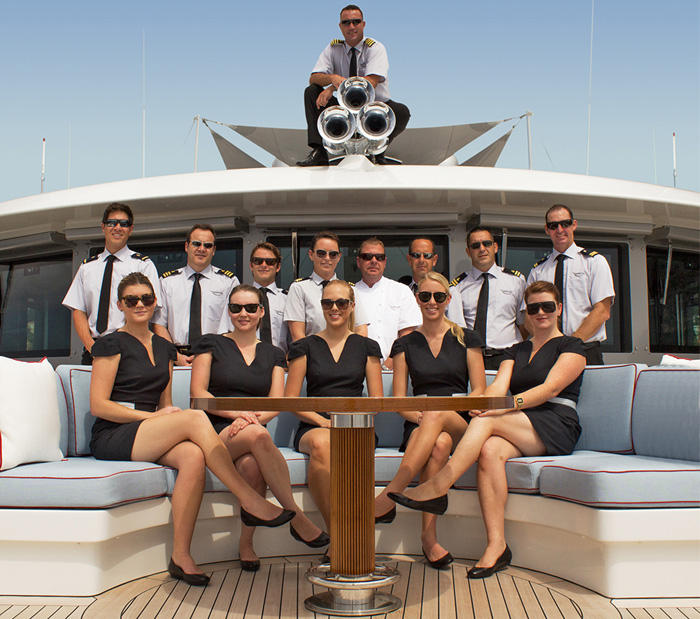 Top 10 Best High End Professional Yacht Crew Placement Recruitment
