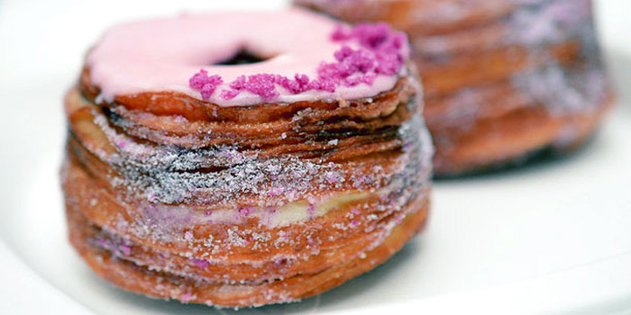 Dominique Ansel Bakery's cronut.