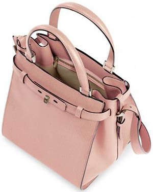 Valextra B-Cube Women's Top Handle Bag: US$3,300.