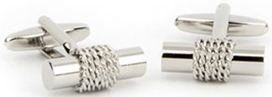 Harvie & Hudson Rope Log T-Bar Cufflink: £35.